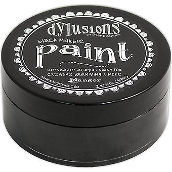 Dylusions By Dyan Reaveley Blendable Acrylic Paint 2oz-Black Marble