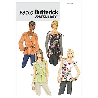 Misses' Top and Belt-F5 (16-18-20-22-24) -*SEWING PATTERN*