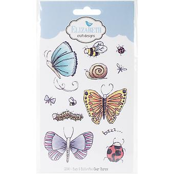 Elizabeth Crafts Clear Stamps-Bugs & Butterflies