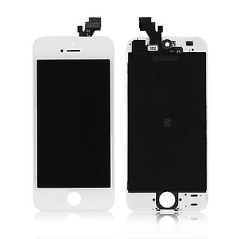 Quality Replacement For iPhone 5 LCD Screen Assembly - White | iParts4u