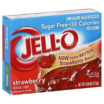 Jello Sugar Free Strawberry Instant Jello Mix