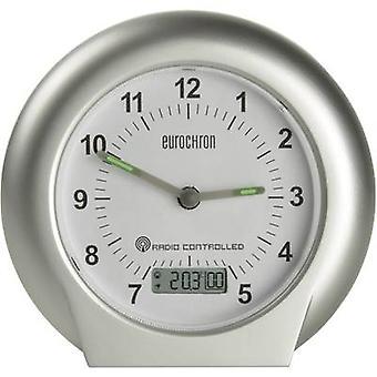 Eurochron EFW 3000 Radio Alarm clock Silver Alarm times 1