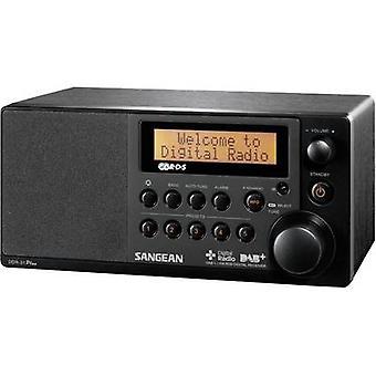 Sangean DDR-31 + DAB + Tischplatte radio AUX, DAB +, UKW-Black