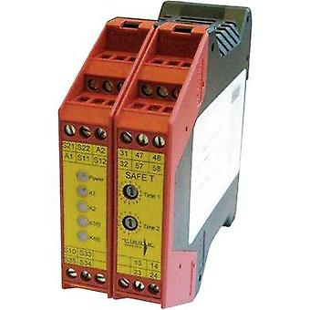 SAFE TN Riese Operating voltage: 24 Vdc, 24 V AC 2 makers, 1 breaker 1 pc(s)