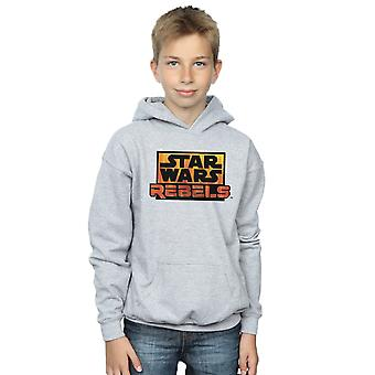 Star Wars Boys Rebels Logo Hoodie