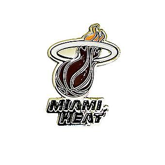 Miami Heat Nba Basketball Team Crest Metal / Enamel Pin Badge