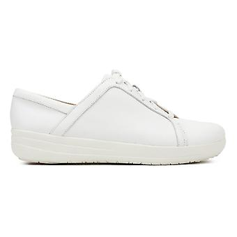 FitFlop Womens White F-Sporty II Trainers