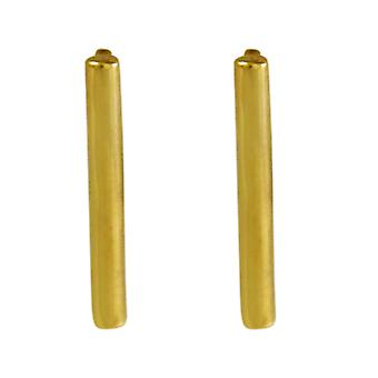 Gemshine - ladies - earrings - earrings - filigree - minimalist - geometric - design - 925 silver plated - 1.5 cm