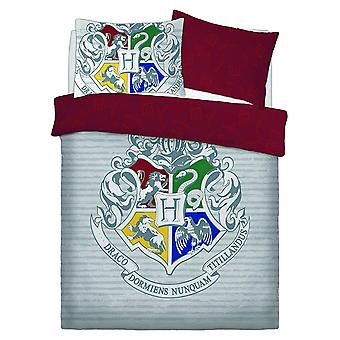 Harry Potter Witchcraft And Wizardry Double Duvet Cover Set