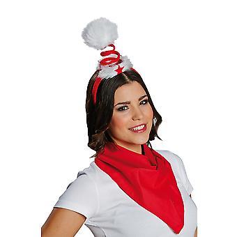 Christmas spiral hair band