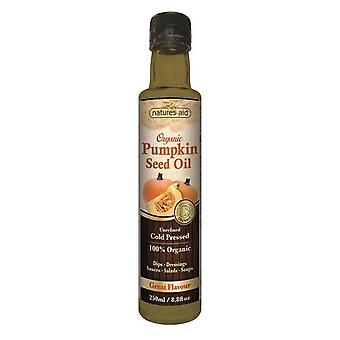 Natures Aid, Organic Pumpkin Seed Oil, 250ml