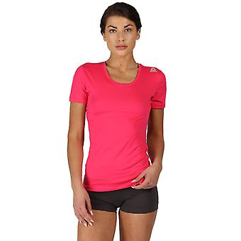 Reebok Gym Women's 2 Pack Performance Sports T-Shirt Twisted Pink Rani