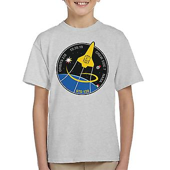 NASA STS 120 Shuttle Mission Imagery Patch Kid's T-Shirt