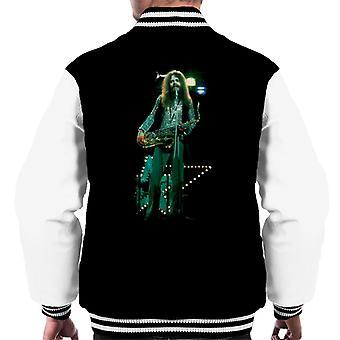 TV Times Roy Wood Of Wizzard Men's Varsity Jacket