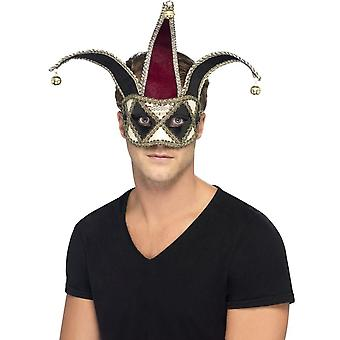 Smiffy's Gothic Venetian Harlequin Eyemask,