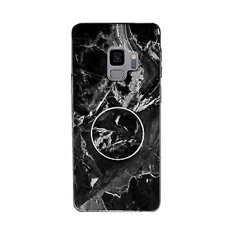 Marble case with phone holder - Samsung Galaxy S9