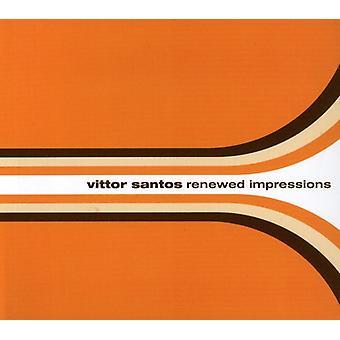Vittor Santos - Renewed Impressions [CD] USA import