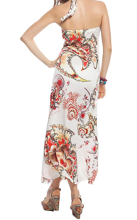 Waooh - Fashion - floreale stampato abito lungo 'Aylin'
