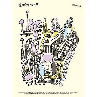 Damien Rice 9 - (Guitar Tab) by Damien Rice - 9780571528424 Book