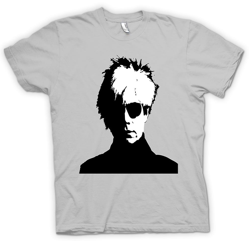 Hommes T-shirt - Andy Warhol - BW - Pop Art