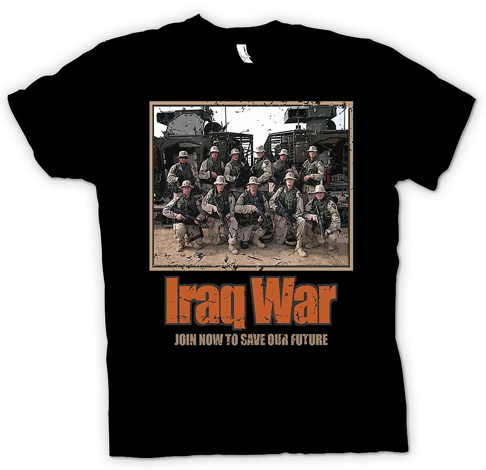 Kids T-shirt - Iraq War - Join Now To Save Our Future