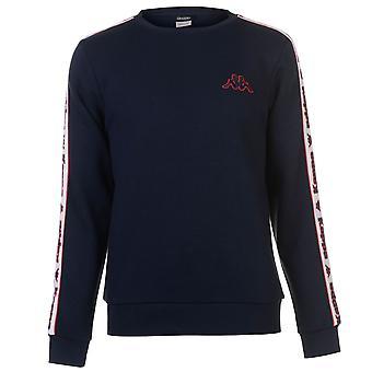 Kappa Mens Fleece LL Crew Sweatshirt Sweater T Top Jumper Pullover Long Sleeve