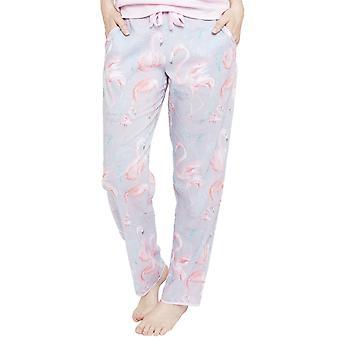 Cyberjammies 4112 Women's Zara Grey Flamingo Print Pyjama Pant