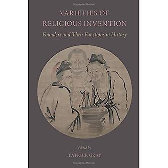 Sorter av religiösa uppfinning: grundare och deras funktioner i historia