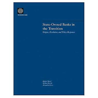 State-Owned Banks in the Transition : Origins, Evolution, and Policy Responses