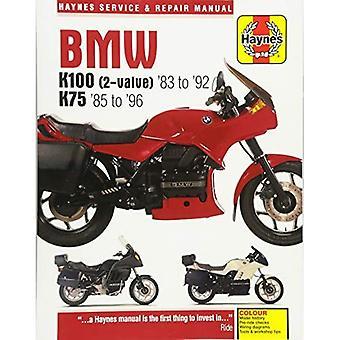 BMW K100 och 75 2-ventils topp modeller 1983-1996 (Haynes Service & reparationshandbok)