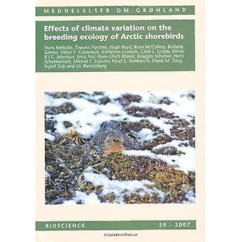 Effets des variations climatiques sur l'écologie de la reproduction des oiseaux de rivage Arctique