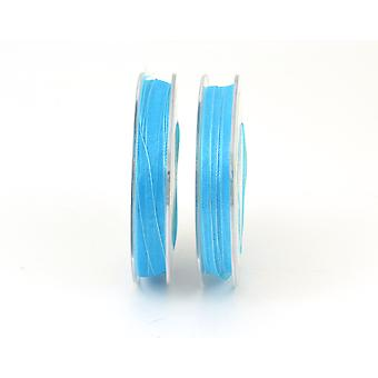 SALE - 7mm Turquoise Organza Craft Ribbon - 10m | Ribbons & Bows for Crafts