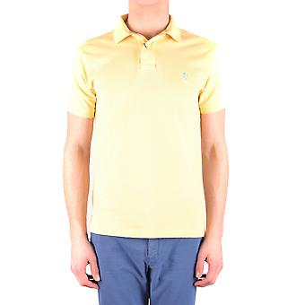 Ralph Lauren Yellow Cotton Polo Shirt