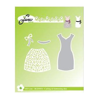 By Lene Dress Cutting & Embossing Die (BLD1034)
