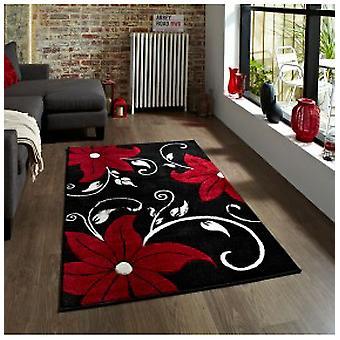 Rugs -Verona - OC15 Black / Red
