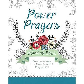 Power Prayers Coloring Book by Barbour Publishing - Barbour Publishin