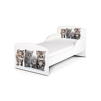 PriceRightHome Kittens Toddler Bed