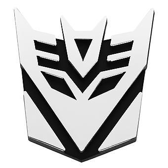 TRIXES Decepticon Logo Symbol Car Decal Sticker Badge