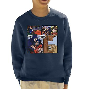 The Phantom Comic Strip Kid's Sweatshirt