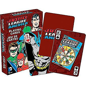 DC Comics Justice League of America rétro jeu de cartes à jouer -nm 52301-