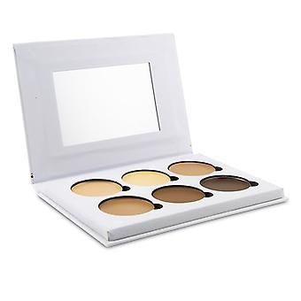 Bellapierre Cosmetics Contour & Highlight Creme Palette (6x Kontur & Highlight) - 24g/0.84oz