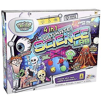 Grafix 4 In 1 Ultimate Science Lab Kit