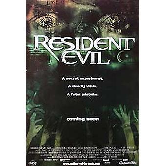Resident Evil (Green Advance) alkuperäinen elokuva juliste