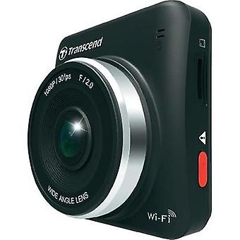 Dashcam Transcend DrivePro 200 Horizontal viewing angle=160 ° 12 V, 24 V Microphone, Display