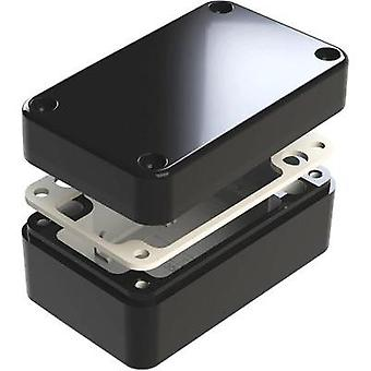 Universal enclosure 130 x 80 x 60 Aluminium Black Deltron Enclosures 487-130806E-68 1 pc(s)
