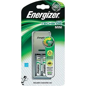 Energizer Mini-Charger, 2-Slot Universal Battery Charger NiMH