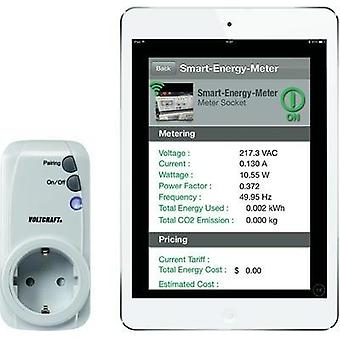 VOLTCRAFT SEM-3600BT Energy Costs Meter app-controlled Memory for 90 d