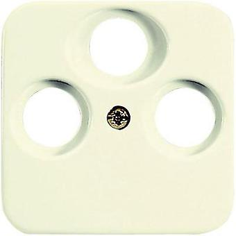 Busch-Jaeger Cover TV, Radio, SAT socket Duro 2000 SI, Duro 2000 SI Linear Cream-white 1743-03-212