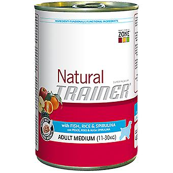 Trainer Natural Adult Medium with Fish, Rice and Spirulina (Chiens , Nourriture , Pâté)