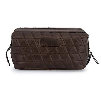Bruno banani washbag toiletry bag cosmetic bag Brown 2811